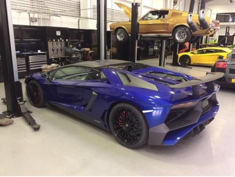 LAMBORGHINI Aventador LP 750-4 SV Superveloce carbon body kit