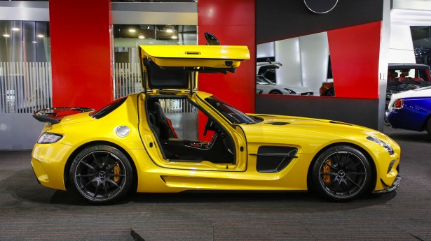 Mercedes Benz SLS AMG Black Series body kit