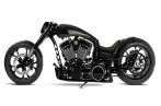 PORSCHE Themed Custom Chopper