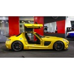Mercedes Benz SLS AMG Black Series body kit
