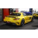 Mercedes-Benz SLS AMG - carbon fiber Black Series rear wing