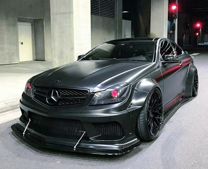 Mercedes Benz C63 Amg Coupe W204 Rs Wide Body Kit