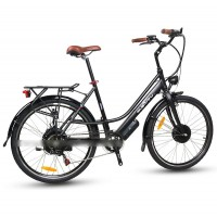EASYRIDER C10 STEP-THRU CITY STYLE ELECTRIC BIKE WITH 250W FRONT HUB MOTOR