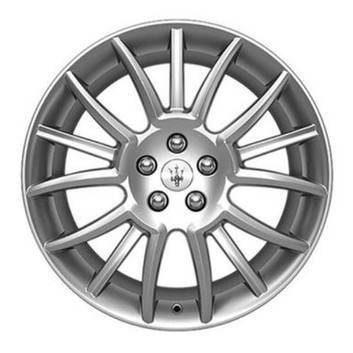 OEM Forged Wheels TRIDENT DESIGN SILVER for Maserati GranTurismo