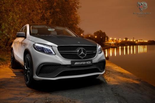Mercedes GLE-Class Coupe Carbon Fiber parts