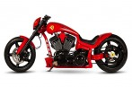 FERRARI Themed Custom Chopper