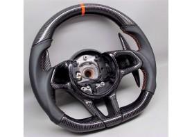 McLAREN - carbon enhanced, custom steering wheel
