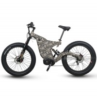 RAMPAGE Great powerful A8 full suspension off-road e-bike
