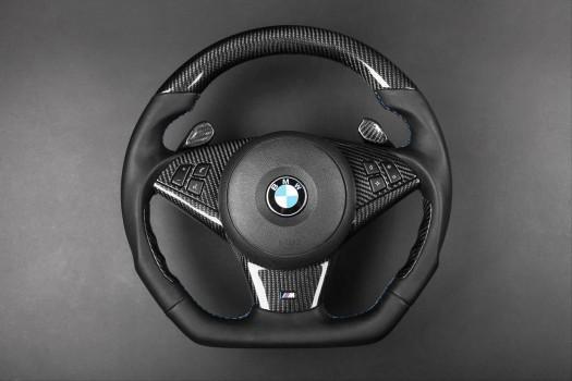 BMW - carbon enhanced, custom steering wheel