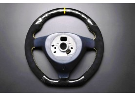 PORSCHE carbon enhanced, custom steering wheel