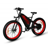 RAMPAGE TT fat tire 1500w long range electric bike