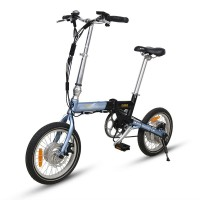 E-Flow CF4 MINI style hub battery folding electric bike