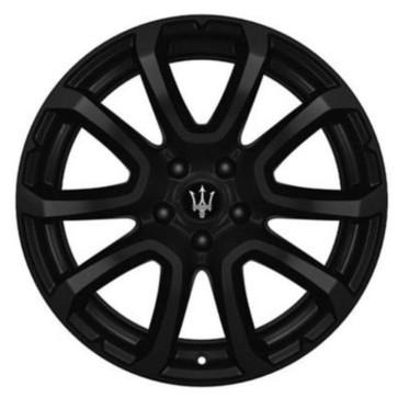 OEM Forged Wheels ZEFIRO MATT BLACK for Maserati Levante