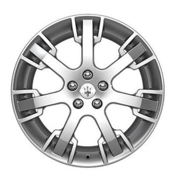 OEM Forged Wheels NEPTUNE DESIGN SILVER for Maserati GranTurismo