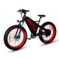 RAMPAGE TT fat tire 1500w long range electric bike