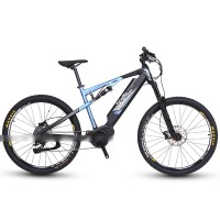 EASYRIDER M7-M Full suspension 250W mid drive electric mountain bike