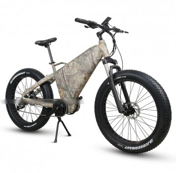 RAMPAGE TT-M fat tire 1000w BBSHD mid motor electric bike