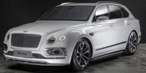 Bentley Bentayga Carbon Fiber parts