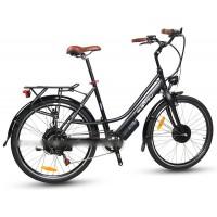 EASYRIDER C10 STEP-THRU CITY STYLE ELECTRIC BIKE WITH 250W FRONT HUB MOTOR