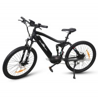 EASYRIDER M2-M full suspension 350w mid motor electric mountian bike