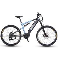 EASYRIDER M7-M Full suspension 250W mid drive electric mountain bike